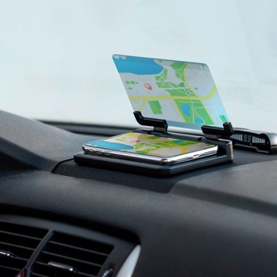 Mobile holder with Mirror