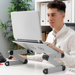 Adjustable Multi-Position Laptop Table Omnible